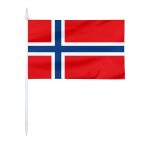 Chorągiewka Norwegii 11x6cm