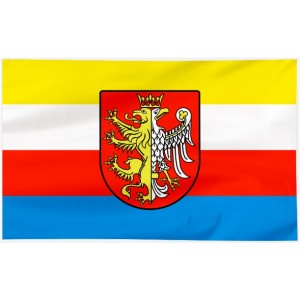 Flaga Krosna 120x75cm