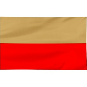 Flaga Leszna 120x75cm