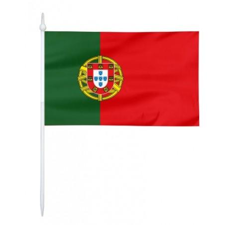 Chorągiewka Portugalii 17x10cm