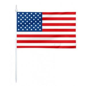 Chorągiewka USA 11x6cm