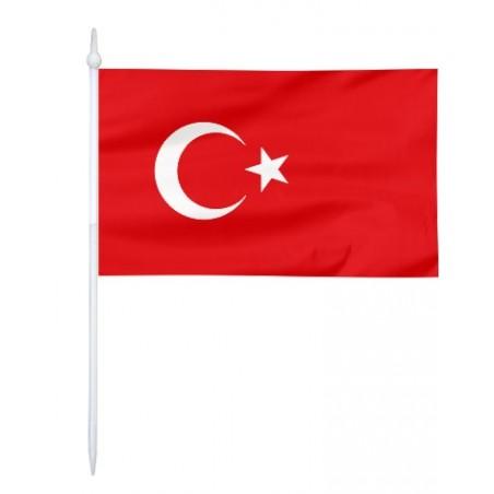 Chorągiewka Turcji 17x10cm