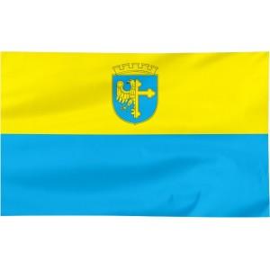 Flaga Opola z herbem 120x75cm