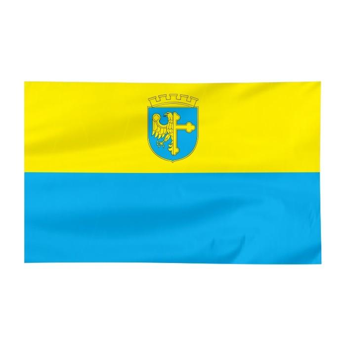 Flaga Opola z herbem 300x150cm