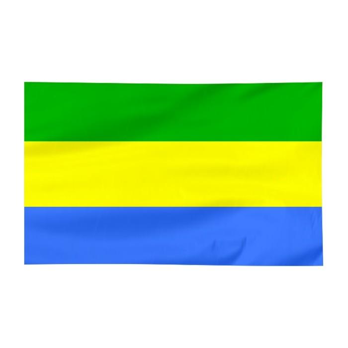 Flaga Ostrołęki 120x75cm
