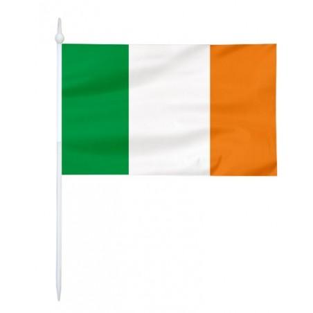 Chorągiewka Irlandii 17x10cm