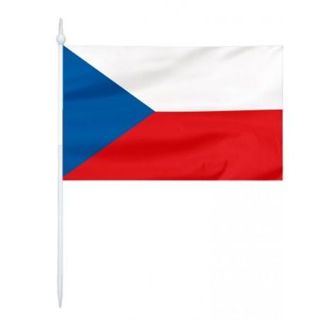 Chorągiewka Czech 17x10cm