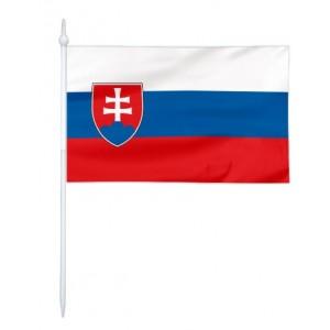 Chorągiewka Słowacji 17x10cm
