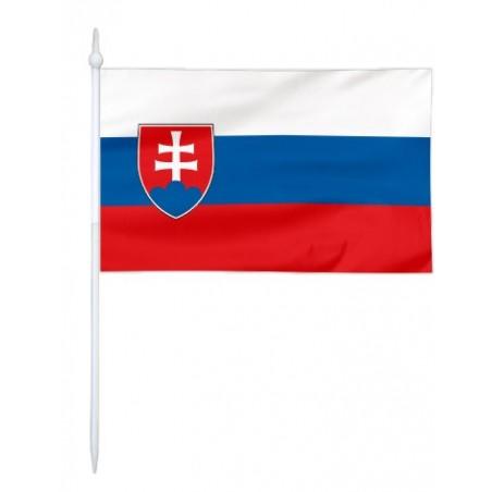 Chorągiewka Słowacji 30x19cm