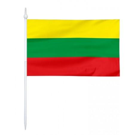 Chorągiewka Litwy 11x6cm