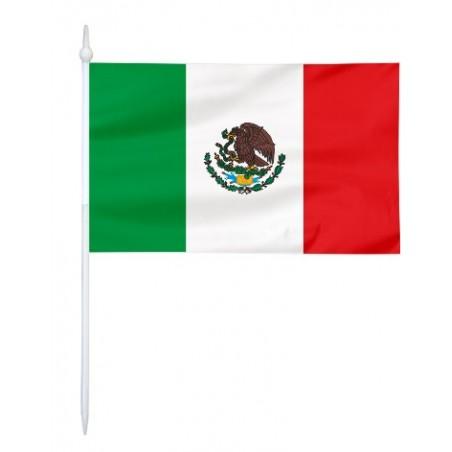 Chorągiewka Meksyku 17x10cm