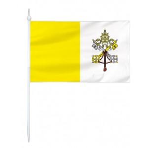 Chorągiewka Watykanu 17x10cm