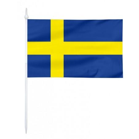 Chorągiewka Szwecji 17x10cm