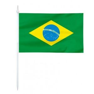 Chorągiewka Brazylii 11x6cm