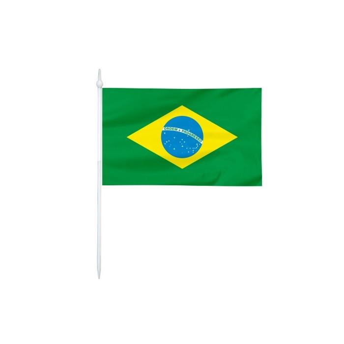 Chorągiewka Brazylii 24x15cm