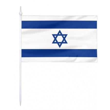 Chorągiewka Izraela 24x15cm