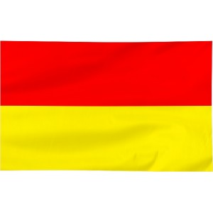 Flaga Wrocławia 150x90cm