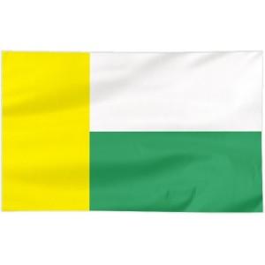 Flaga Zielonej Góry 120x75cm