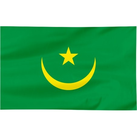 Flaga Mauretanii 120x75cm