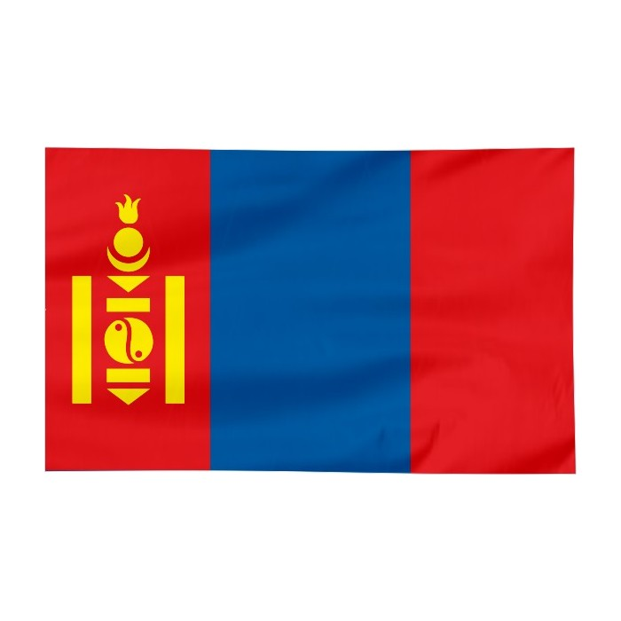 Flaga Mongolii 150x90cm