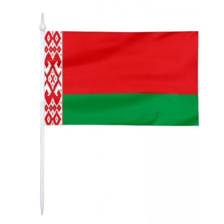 Chorągiewka Białorusi 24x15cm