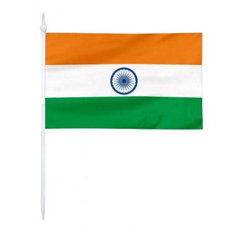 Chorągiewka Indii 11x6cm