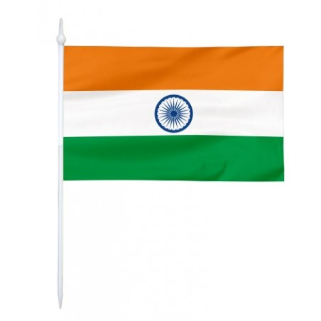 Chorągiewka Indii 17x10cm