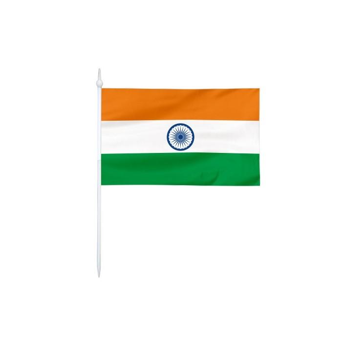 Chorągiewka Indii 24x15cm