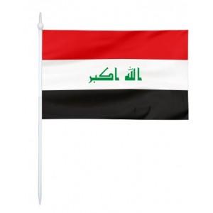 Chorągiewka Iraku 17x10cm