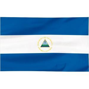 Flaga Nikaragui 300x150cm