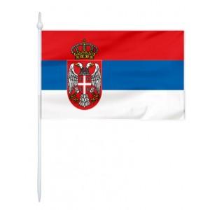 Chorągiewka Serbii 24x15cm