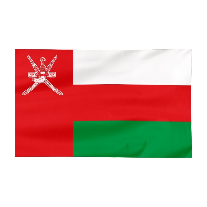 Flaga Omanu 300x150cm