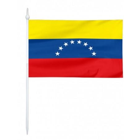 Chorągiewka Wenezueli 11x6cm