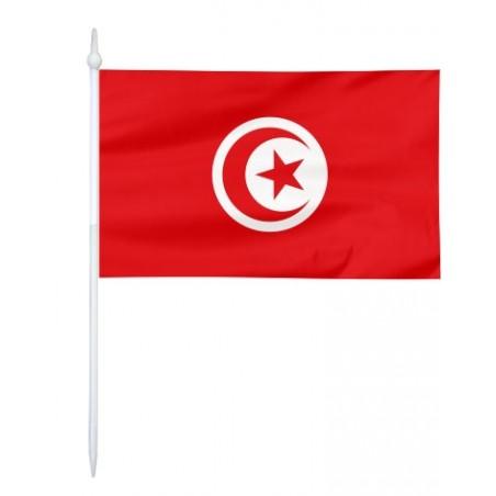 Chorągiewka Tunezji 17x10cm