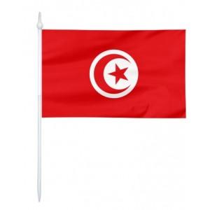 Chorągiewka Tunezji 24x15cm