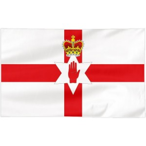 Flaga Irlandii Północnej 300x150cm