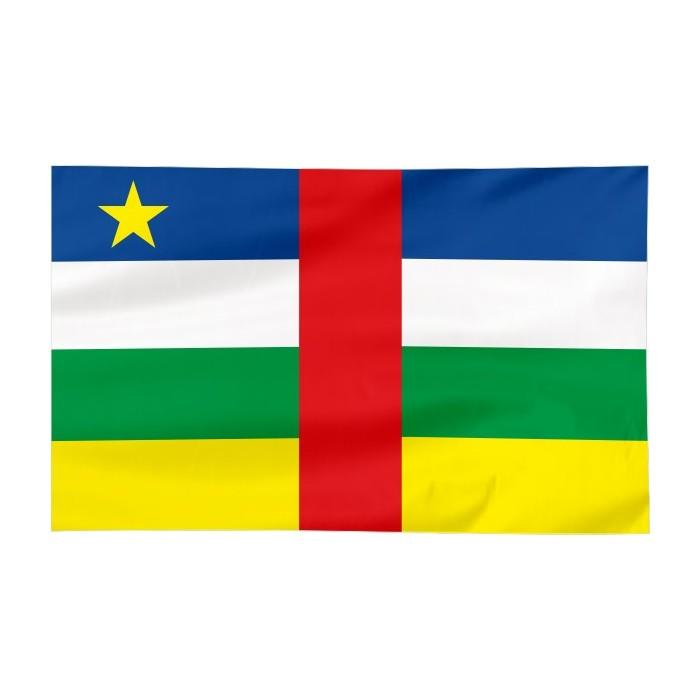 Flaga Republiki Środkowoafrykańskiej 120x75cm