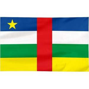 Flaga Republiki Środkowoafrykańskiej 300x150cm