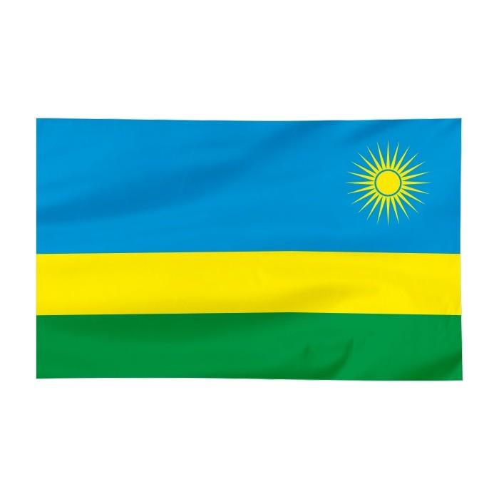 Flaga Rwandy 150x90cm