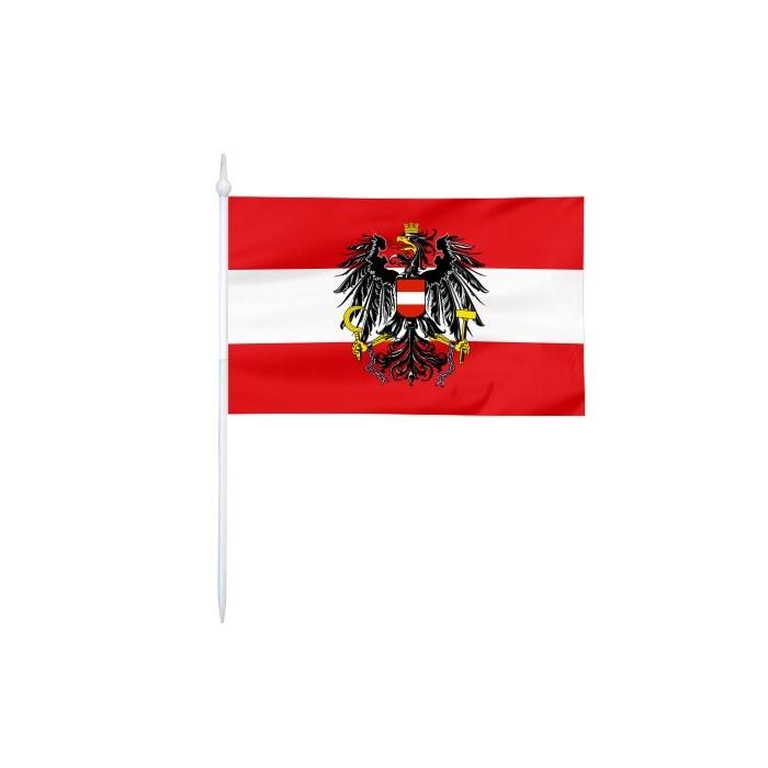 Chorągiewka Polski z godłem