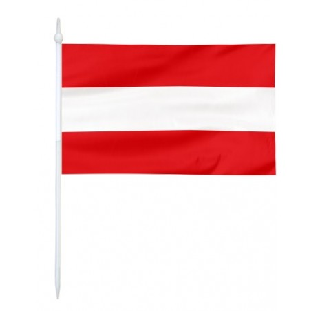 Chorągiewka Austrii 11x6cm