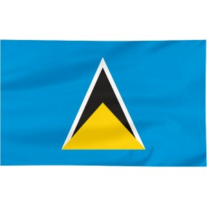 Flaga Saint Lucii 300x150cm