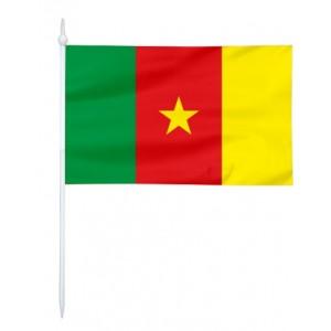 Chorągiewka Kamerunu 17x10cm