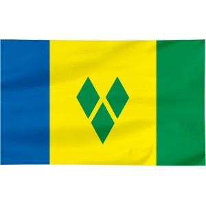 Flaga Saint Vincent i Grenadyny 120x75cm