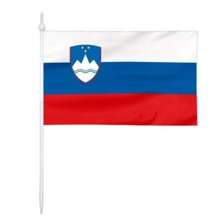Chorągiewka Słowenii 11x6cm