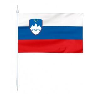 Chorągiewka Słowenii 24x15cm