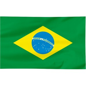 Flaga Brazylii 100x60cm