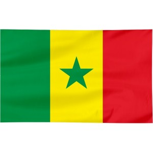 Flaga Senegalu 100x60cm