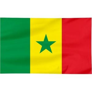 Flaga Senegalu 150x90cm