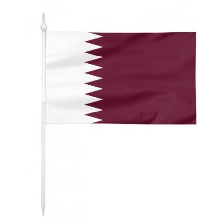 Chorągiewka Kataru 17x10cm